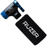 RUZER© CO2 C02 Inflator Quick & Easy Presta & Schrader Valve Compatible Bicycle Tyre Pump For Road & Mountain Bikes & Insulated Sleeve for 12g, 16g, 20g & 25g Cartridges