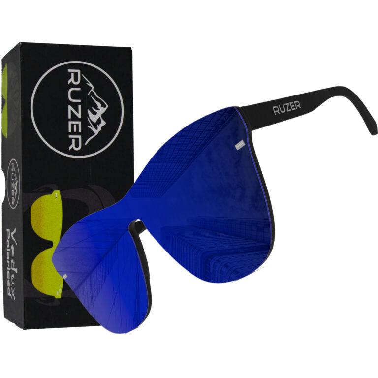 blue polarised sunglasses