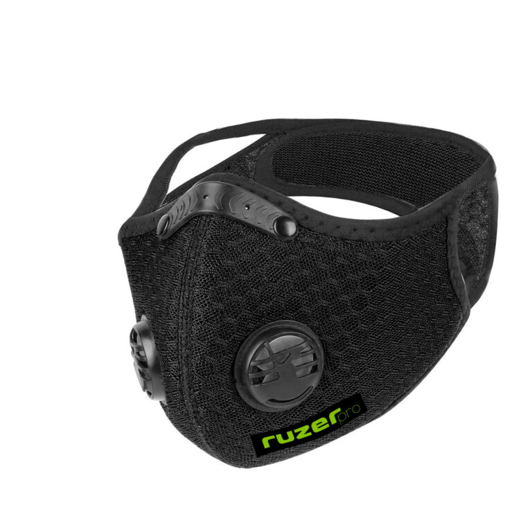 ruzer logo cycling mask n95