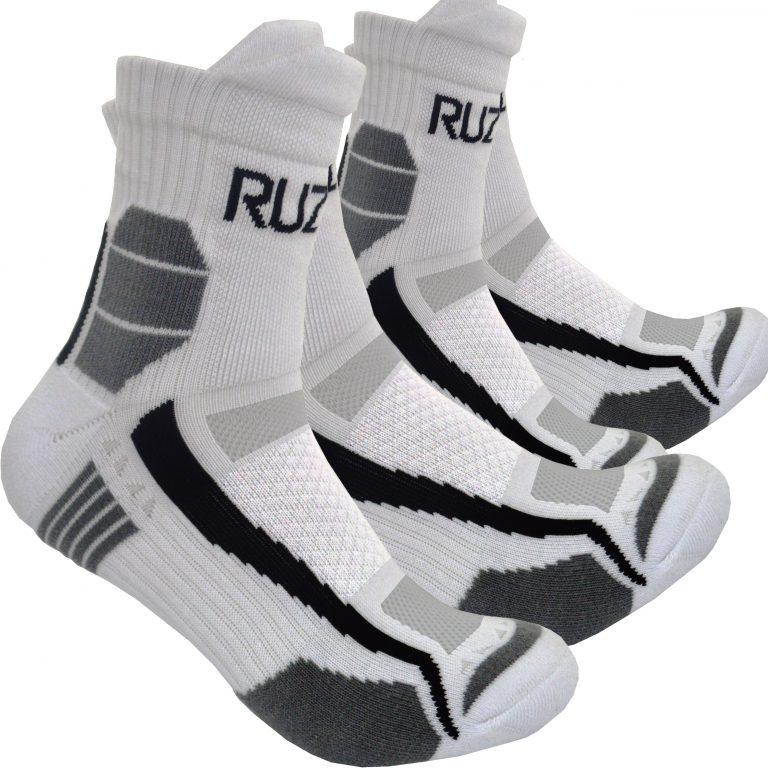 2x Pairs Sports Gym Running cycling football Socks Padded Protection Coolmax ventilation anti sweat anti blister cushioned anti sweat