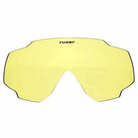 yellow low light enchancing lens